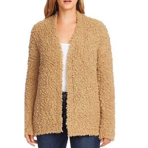 NWT Vince Camuto  Poodle Yarn Open Front Cardigan